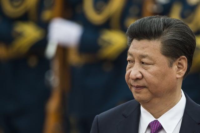 中國國家主席習近平日前召開中共中央政治局會議,承認中國經濟形勢嚴峻。(Getty Images)