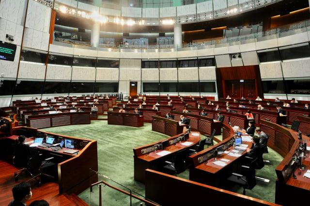 唐浩分析,香港延遲立法會選舉,是因為建制派勝算不高 、國際密切監察,北京難以左右選舉等原因。圖為香港立法會。(記者宋碧龍/攝影)