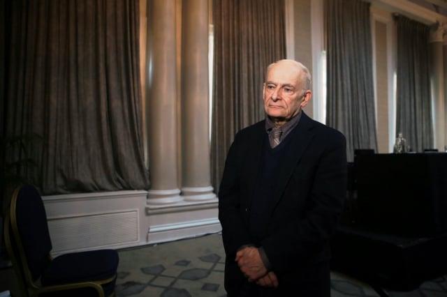 2019年6月17日,國際人權律師大衛‧麥塔斯(David Matas)在英國倫敦「獨立人民法庭」。(記者冠奇/攝影)