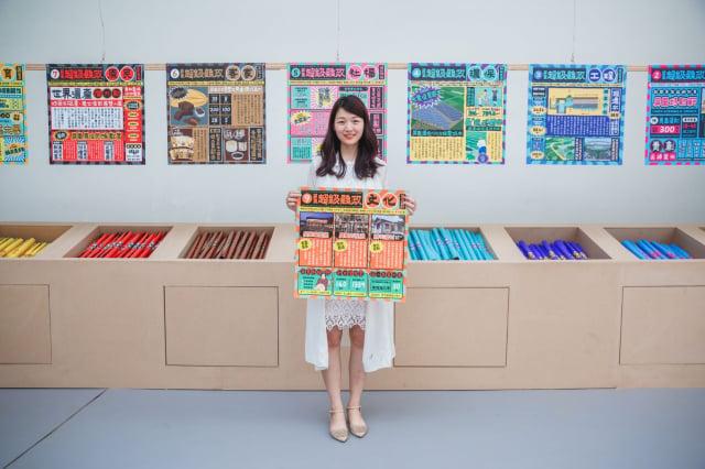 2019年台灣設計展「屏東超級縣政海報」,獲德國紅點設計大獎。(屏東縣政府文化處提供)