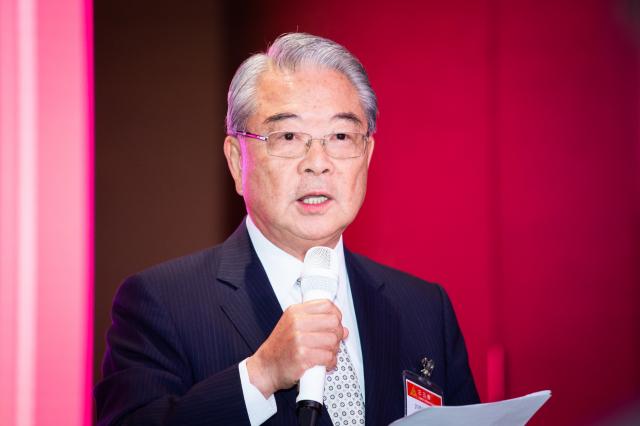 現任海基會副董事長許勝雄將代理海基會董事長一職。(記者陳柏州/攝影)