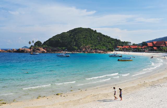 入住海邊度假村,放慢步調感受海洋的懷抱。(馬來西亞觀光局提供)