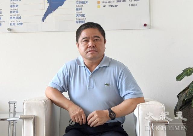 8月19日,黑龍江省雞西市副市長李傳良,接受《大紀元》採訪時講述自己退黨的心路歷程。(記者徐繡惠/攝影)