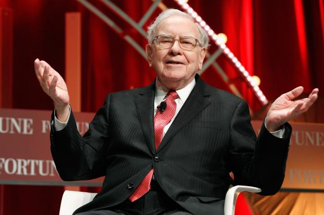 巴菲特旗下的波克夏海瑟威(Berkshire Hathaway)公司發聲明透露,已對日本5家大企業注資至少60億美元。(Paul Morigi/Getty Images for Fortune/Time Inc)