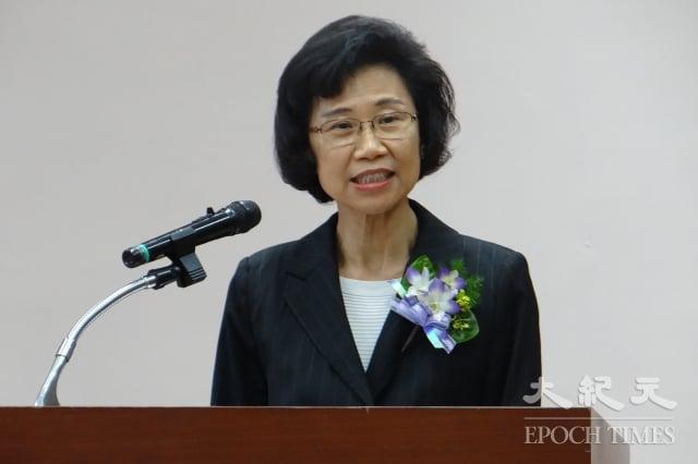 新任監察院秘書長朱富美1日正式上任。