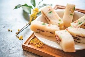 桂花糕。(Shutterstock)