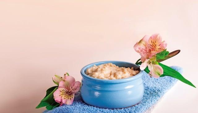 木芙蓉花糯米粥。(Shutterstock)