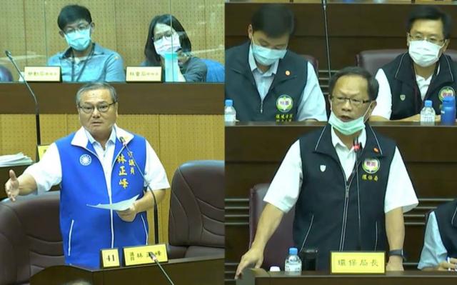 林正峰議員建議年底前完成國光等電廠空污範圍模擬。