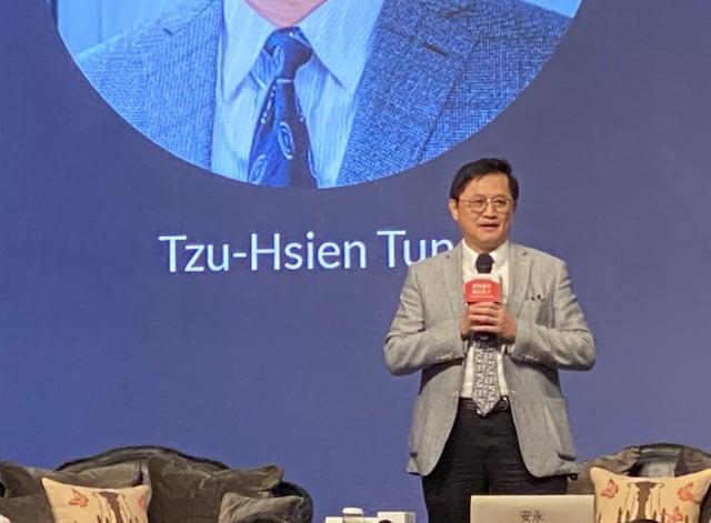 和碩董事長童子賢4日表示,臺灣沒有跟世界各國簽很多的FTA,但是臺灣的經貿實力,比起FTA簽約比重非常高的韓國,並不遑多讓。(中央社)