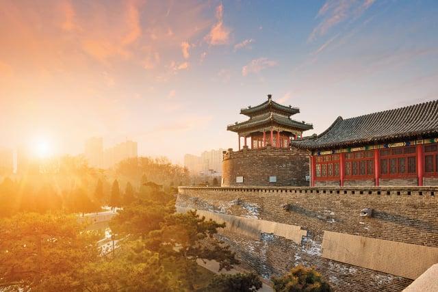武臣率領的部隊,很快就打下了趙國的都城邯鄲。圖為邯鄲古城遺蹟。(Shutterstock)