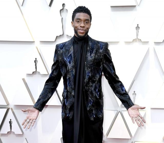 《黑豹》主角查德威克·鮑斯曼(Chadwick Boseman)因大腸癌病逝,享年43歲。((Frazer Harrison/Getty Images))