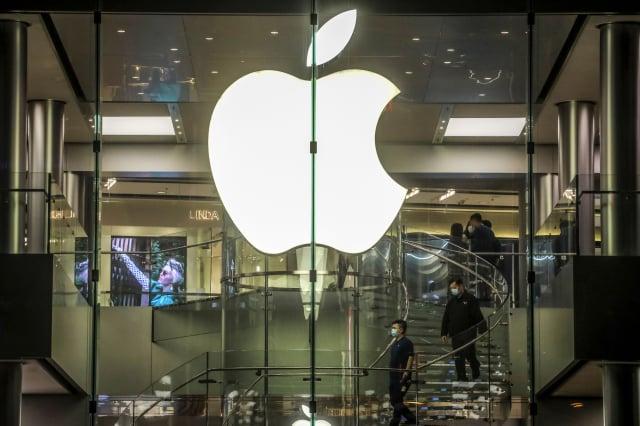 日媒引述知情人士稱,蘋果將在9月中旬開始生產5G iPhone。(VIVEK PRAKASH/AFP via Getty Images)