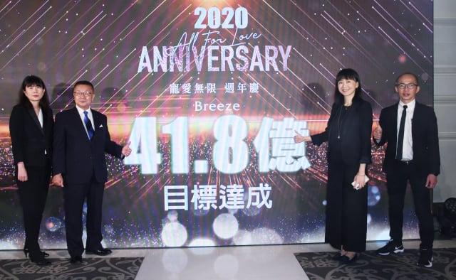 微風集團6店目標業績上看新臺幣41.8億元。(記者黃宗茂/攝影)