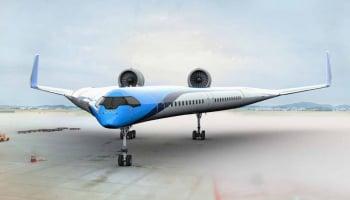 機翼載客 Flying-V飛機有望實現