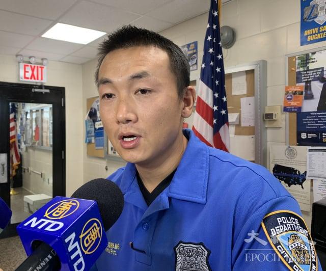 美國紐約市皇后區111分局華裔社區聯絡官昂旺,涉嫌非法擔任中共代理人,於9月21日上午被捕。圖為昂旺資料照。(記者林丹/攝影)