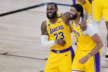 NBA/詹姆斯、戴維斯拿下逾60分 西區決賽聽牌