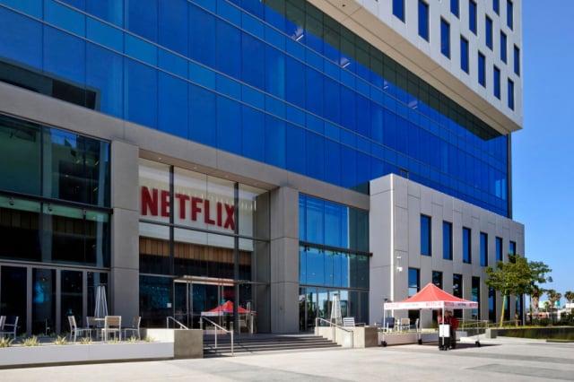5名美國聯邦參議員致信Netflix總裁,敦促該公司重新考慮把中國作家劉慈欣著作《三體》改拍成影集的決定。圖為Netflix位於加州的總部。(Netflix via Getty Images)
