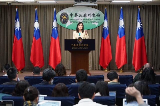 對於中共外交部嗆台灣總統視訊APEC「搞突破是徒勞」。對此,臺外交部發言人歐江安25日呼籲中共,停止與台灣政府與人民為敵。(外交部提供)
