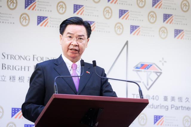 外交部長吳釗燮指出,中共對臺惡行,不只破壞臺海穩定,也造成印太區域嚴重威脅,已引起國際高度關注。圖為資料照。(記者陳柏州/攝影)