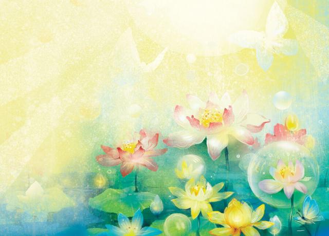 語言治療師柳德米拉‧奧勒爾創作一部《蓮花的故事》(Lotus Fairy Tale)。(Katsiaryna Babok via Armina Nimenko提供)