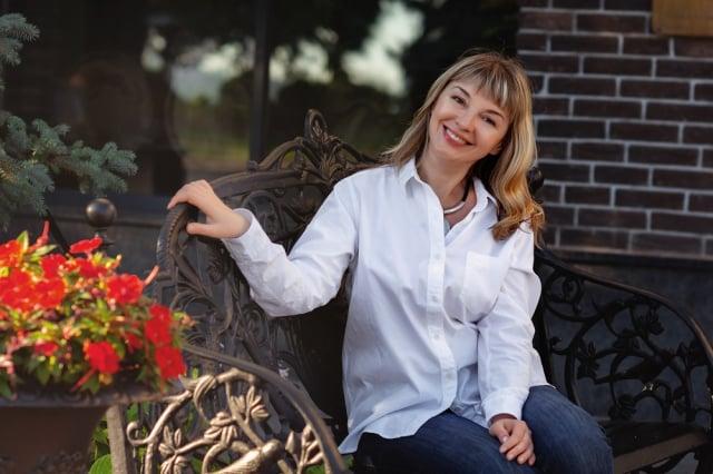 童話作者兼語言治療師柳德米拉‧奧勒爾。(Mishchenko Olga via Armina Nimenko提供)
