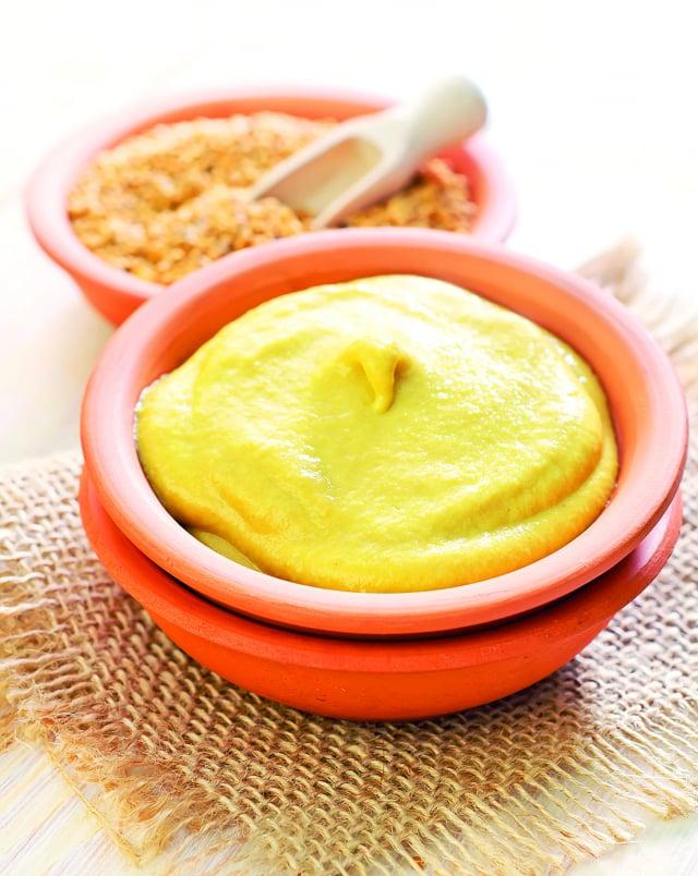 第戎芥末醬也可以用來做沙拉醬、醃醬,或者各式料理的調味料。(Shutterstock)