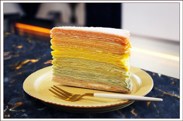 餐桌上的「彩虹」 為生活注入繽紛能量。(木木江鳥衣谷提供)