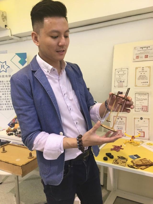 覓謎爾科技有限公司創辦人姚舒嚴。