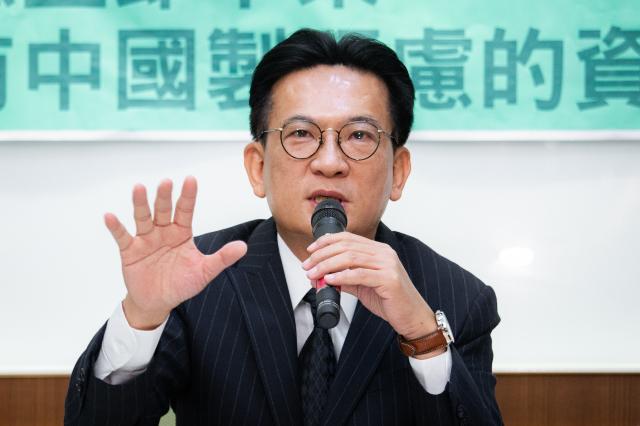 立委林俊憲。(記者陳柏州/攝影)
