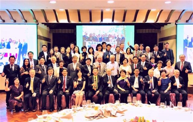 台灣產業科技推動協會(TITA)與北美洲台灣商會聯合總會(TCCNA),10月11日在高雄圓山飯店聚會,雙方重申協力推動台美產業供應鏈結盟,共促台商產業的升級與轉型。(記者奇文/攝影)