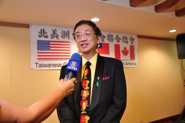 北美台灣商會總會長吳怡明說,台灣防疫成就,已然成為一股國際友善力量。