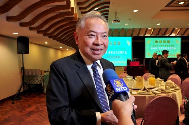 奇美食品公司董事長宋光夫表示,台美關係原已不錯,若沒有中共因素,雙方一定會更好。