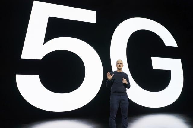 蘋果日前舉行發布會,首席執行官蒂姆·庫克(Tim Cook)說:「今天是iPhone新時代的開始。」(Brooks KRAFT/Apple Inc./AFP)