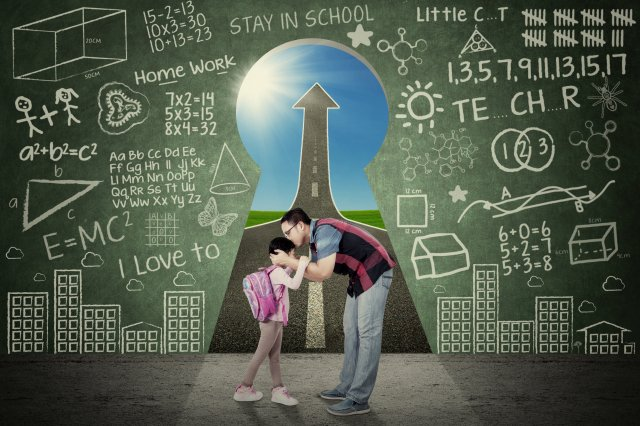 陪伴孩子健全發展4項指標。(123RF)