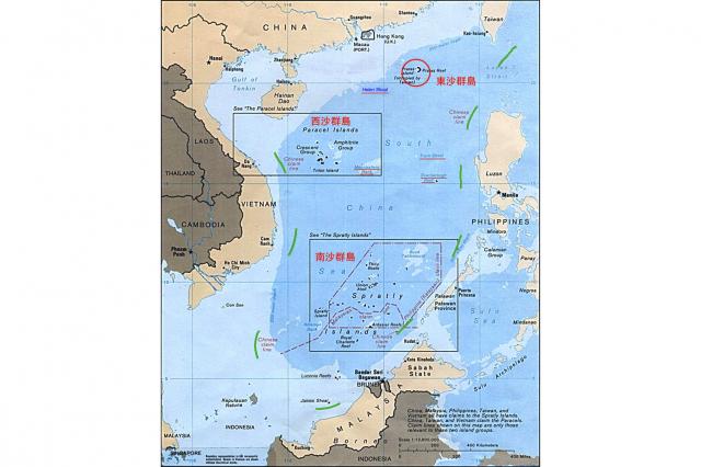 有學者表示,中共可能想釋放一個議題,讓東沙運補成為重啟臺灣與中國「事務性協商」的「藥引子」,並逼臺灣先提出協商。 (美國政府網站)