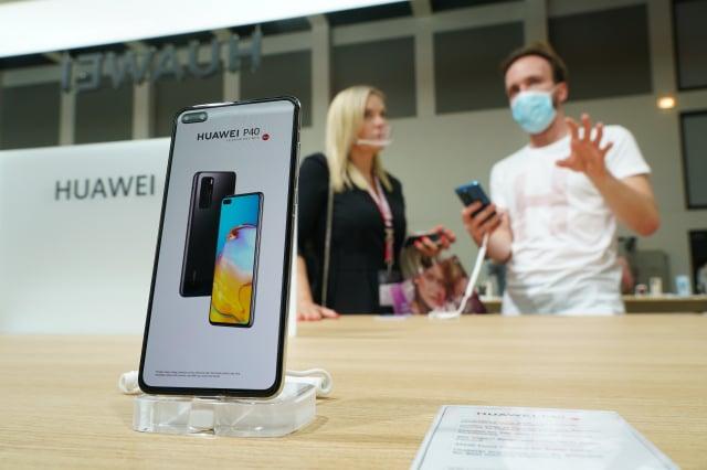 經濟部長王美花表示,經濟部公務手機沒有使用華為手機。(Sean Gallup/Getty Images)