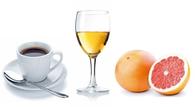 葡萄柚汁會透過抑制體內CYP3A4酵素的代謝作用影響多種藥品的代謝,使得藥物的血中濃度升高,增加藥品不良反應的發生風險。(123RF_大紀元合成)
