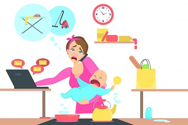 越來越多的女性因同一問題進行心理治療,那就是疲憊。(123RF)