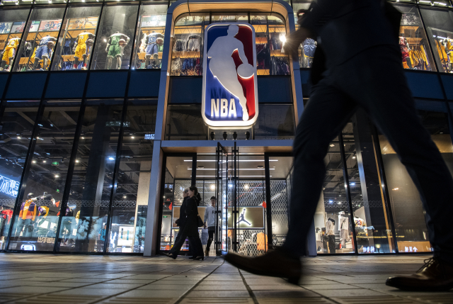 NBA新賽季暫定將在12月22日開打。示意圖。(Kevin Frayer/Getty Images)