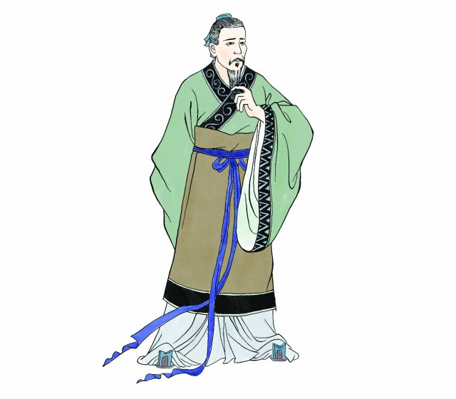呂公見劉邦有富貴相,主動將女兒許給劉邦。(新唐人電視台)