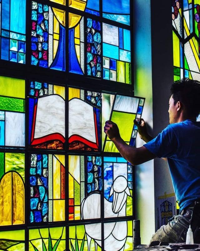 臺灣基督長老教會濟南教會。(臺灣基督長老教會濟南教會提供)