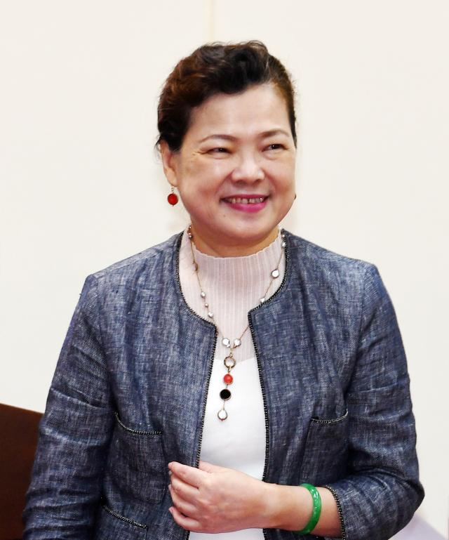 經濟部長王美花18日表示,第三季製造業及其技術服務業很多已經恢復。(中央社)
