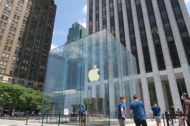 美國科技大廠蘋果(Apple)公司於2017年涉入「電池門」訴訟案。(中央社)