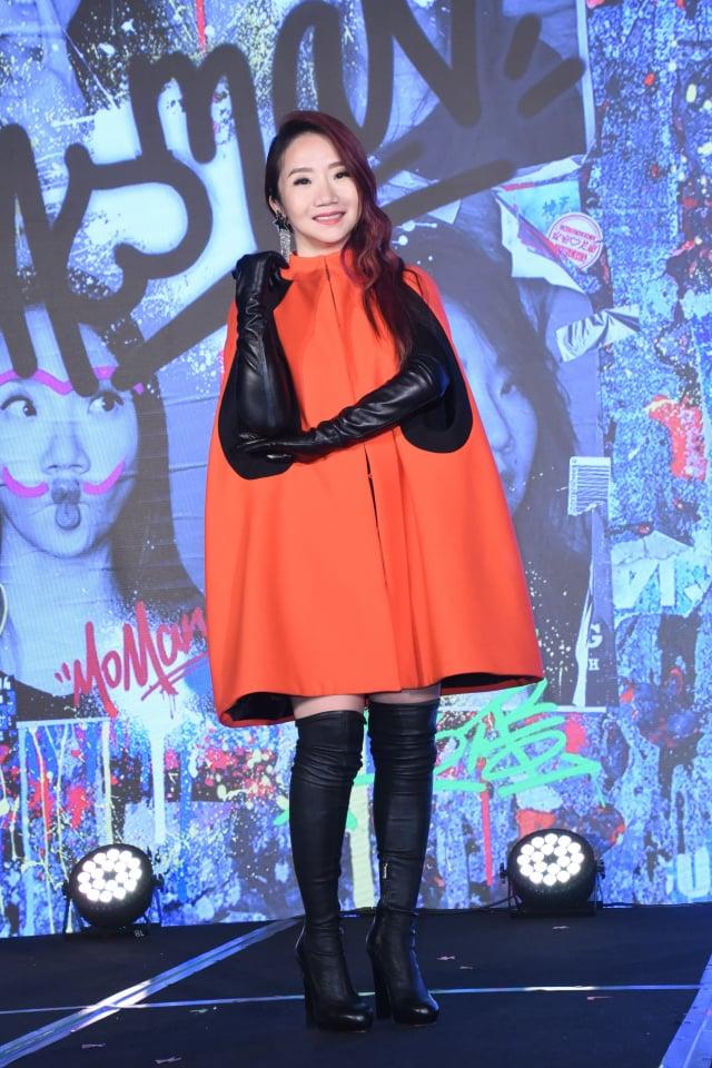 陶晶瑩(陶子)24日舉辦記者會,宣布將於2021年唱進臺北小巨蛋。 (記者黃宗茂/攝影)