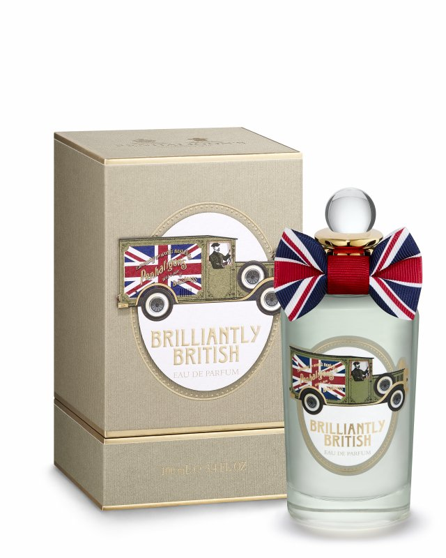 新款Brilliantly British淡香精,融合海鹽焦糖與冰結薰衣草香氣。