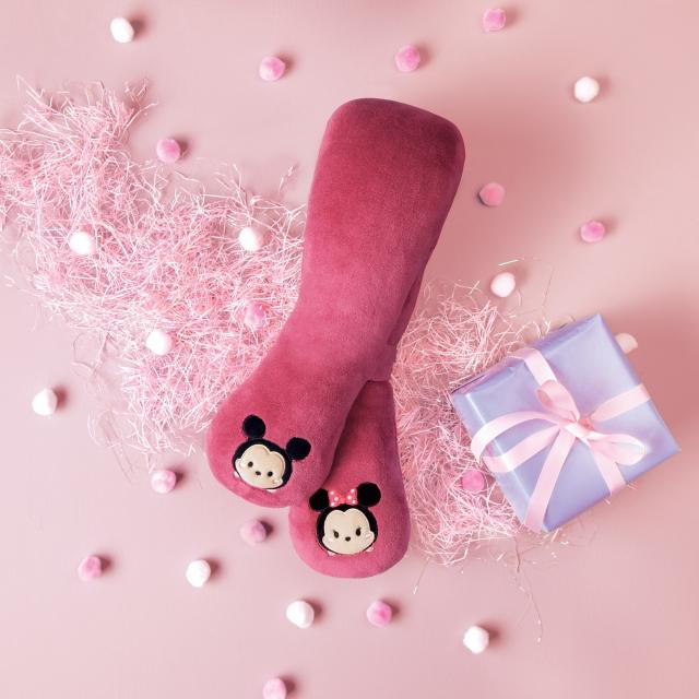 按摩圍巾Tsum Tsum推出四個限定款熱門角色。 (OSIM提供)