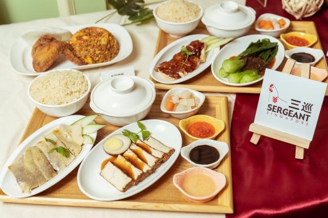 「三巡」以新加坡文華東方酒店的配方製作海南雞,榮獲多項獎項。(笠正整合行銷提供)