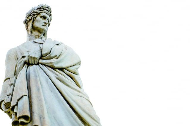 但丁雕像。(123RF)
