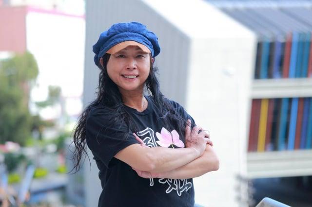 「Free Common自由同頻音樂舞臺劇團」團長歐陽蓓,一個人慢慢集合一群人,在臺灣開啓了一種新文創。(歐陽蓓提供)