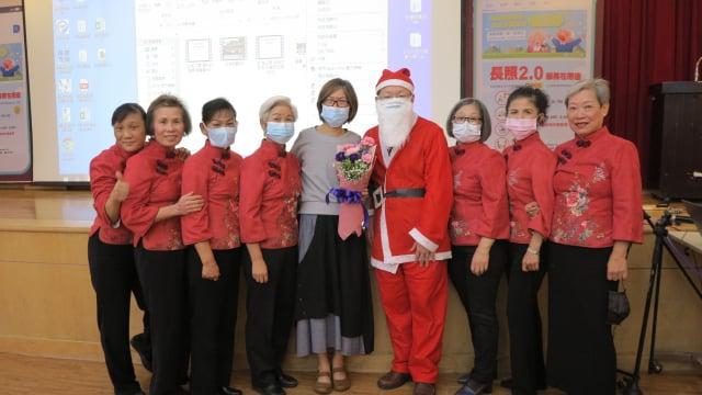 桃園醫院康乃馨姊妹會舉辦15週年慶祝活動。